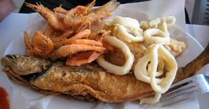 Al bahriya: Sea food in Marrakech