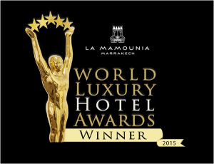 La Mamounia, world Luxury Hotel Awards Winner