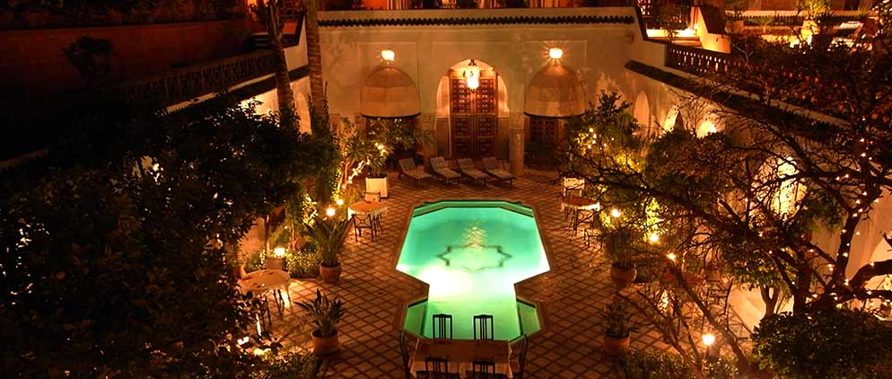 Palais Donab Marrakech view