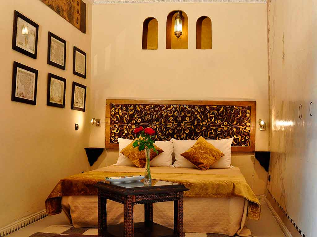 Riad Aguaviva. Maps room