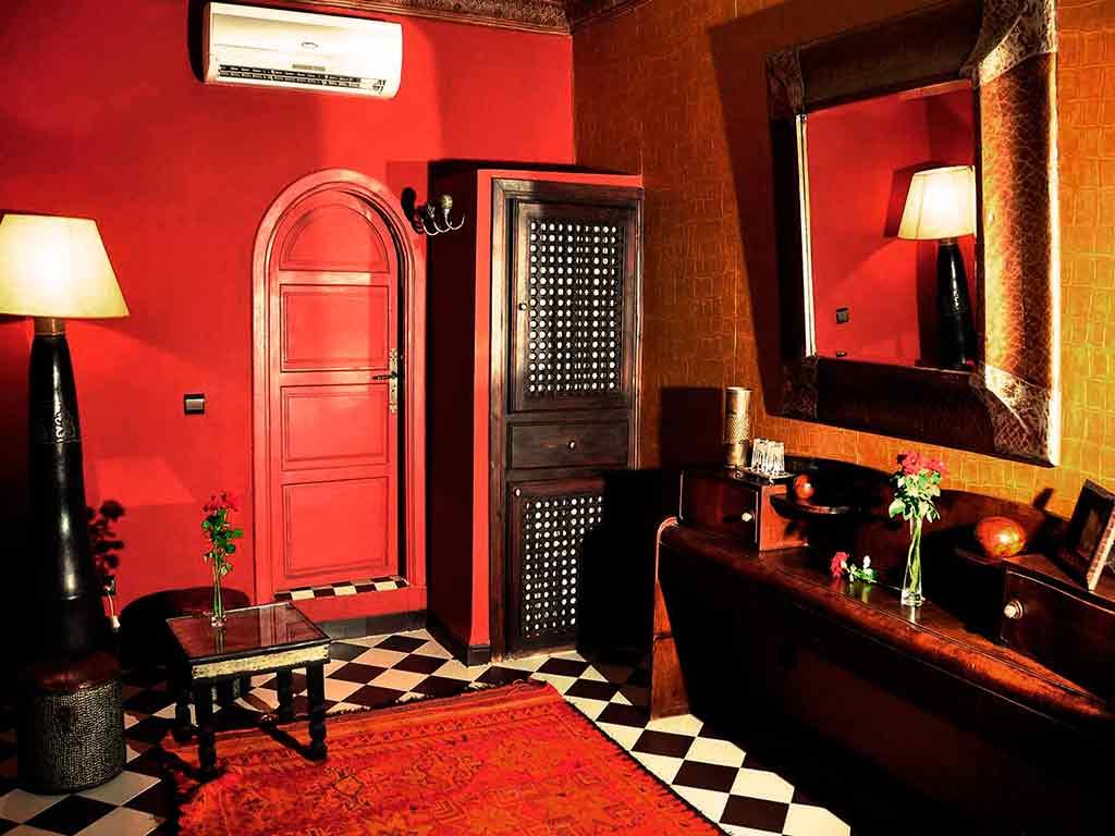 Sultan room. Riad Aguaviva. Hotel in Marrakech