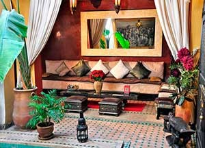 Riad Aguaviva is a hotel boutique in Marrakech.