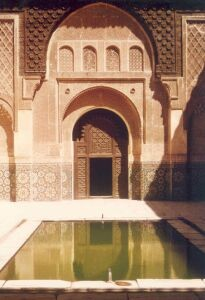 madrasa_Ben-Youssef_marrakech was a coranic school