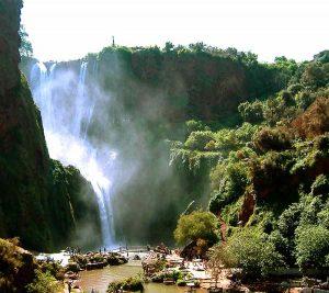 Ouzoud waterfalls image