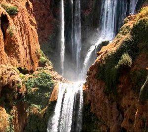 Ouzoud waterfalls. Morocco