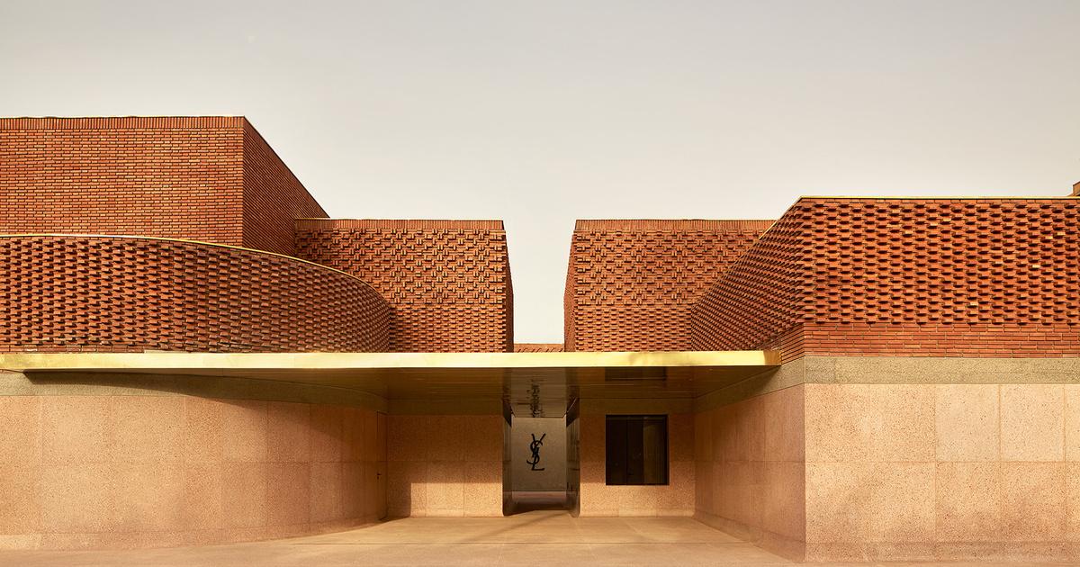 ce6ac0ad19d Ives Saint Laurent museum of Marrakech. Mandatory visit.