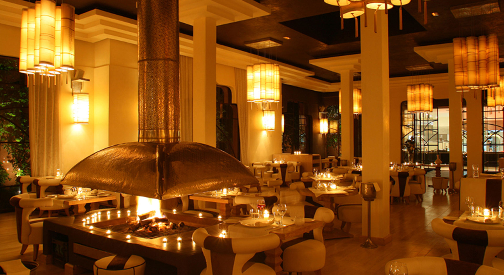 Le Crystal restaurant located in Marrakech with Mediterranean and Creative cuisine
