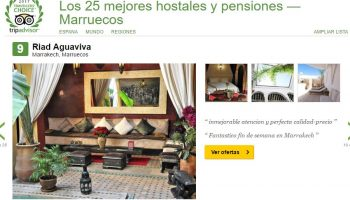 RIAD AGUAVIVA 9ª mejor hotel MARUECOS TRIPADVISOR