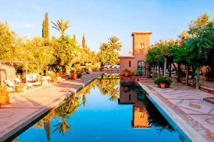 Beldi Country Club is located in Marrakech. view