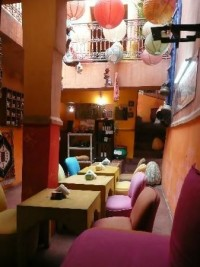 Earth Cafe is located in Marrakech. Vegan and Vegetarian food. Medium prices