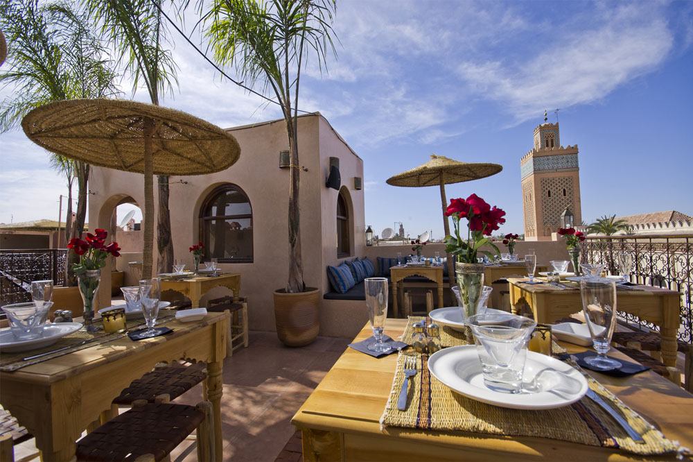 kasbah_cafe Marrakech terrace