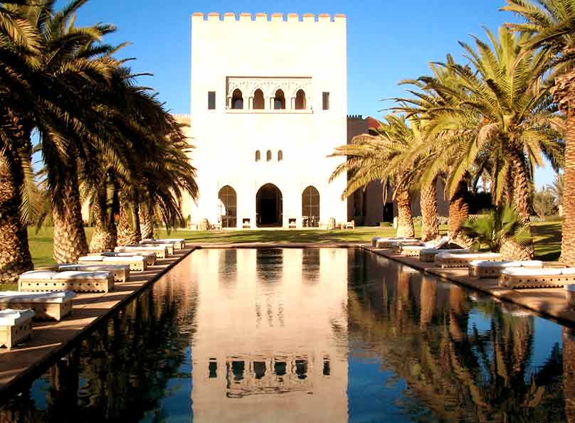 Ksar Char Bagh is a perfect place for relaxing in Marrakech