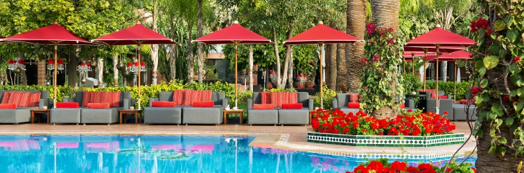 Pool Lounge Marrakech into Sofitel Complex, pool and lounge, mediterranean cuisine