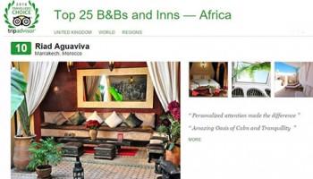 Tripadvisor top 25 Africa. Riad Aguaviva image