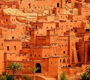 old kasbah near Ouarzazate