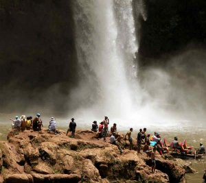 Ouzoud waterfalls image. Morocco. Riad Aguaviva. Trips from Marrakech.