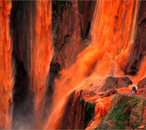 Ouzoud waterfalls in Morocco. Riad Aguaviva excursions.