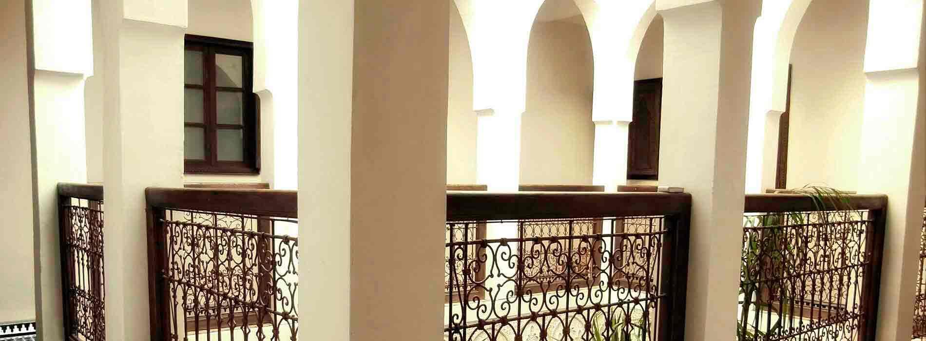 Riad Aguaviva picture. Archs